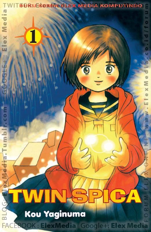 Sejak musibah roket Jepang berpenumpang thn 2010, Asumi bercita-cita menjadi antariksawan! TWIN SPICA vol. 01 http://ow.ly/mG7YZ Harga: Rp. 17,500