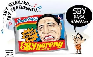 KARNA MI GORENG INDOMIE TERLALU MAINSTREAM JADI ADA SBY goreng INDONESIA