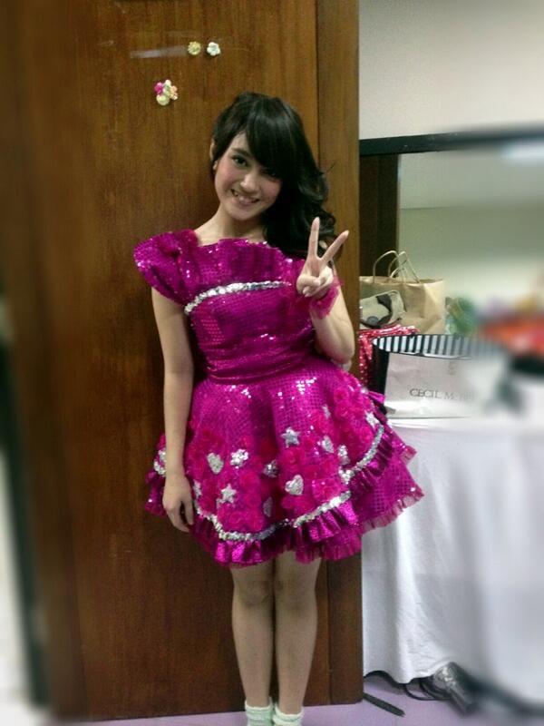 Foto Nabilah JKT48 nich yang terbaru baru upload kmrn.