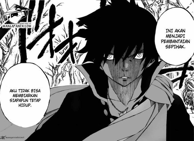 zeref dan mavis berteman . zeref vs mavis part 1 (fairy tail manga chapter episode 340)