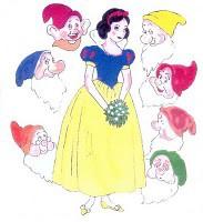 Kisah Asli putri salju, penyihir memberikan apel beracun kepada snow white dan snow white terbangun karna ciuman sang pangeran.Tapi sebenarnya snow white terbangun karna kejedot pelana kuda pangeran saat snow white tidur diatas kudanya pangeran