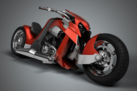 motor harley concept.siapa yang mau pakai