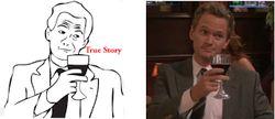 True Story True Story adalah karakter meme komik berdasarkan gambar kontur hitam dan