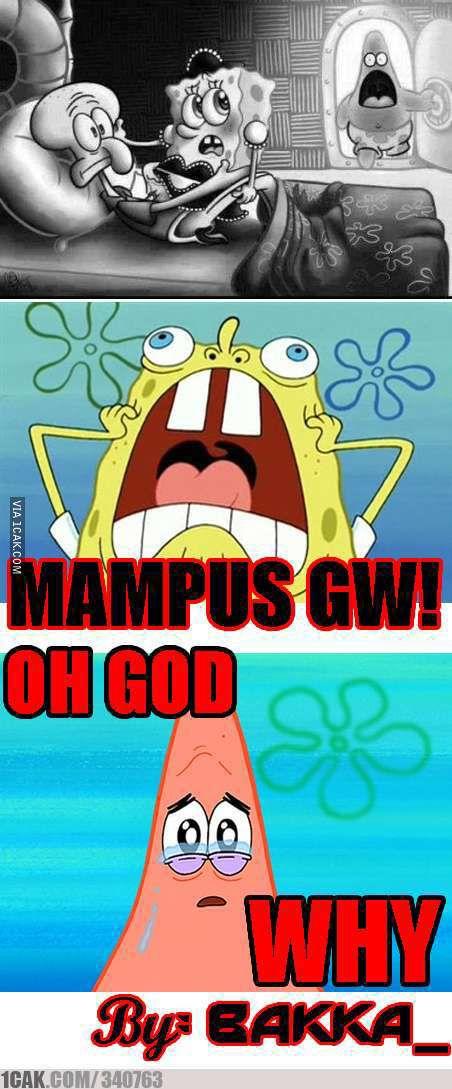 Mampus loe spongebob!!!