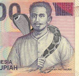 mother of Rp1.000