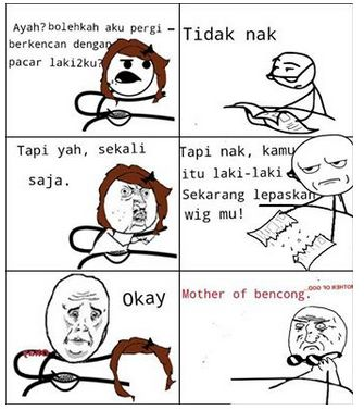 Mother of bencong