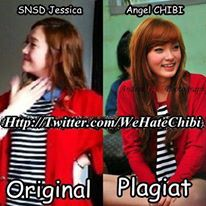 jessica snsd vs angel chibi