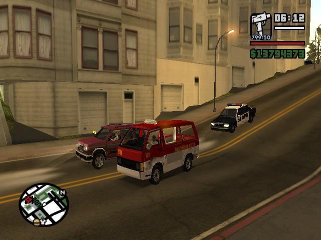 Wow ternyata di game Grand Theft Auto san andreas ada mobil angkot dan masih banyak lagi kendaraan versi indonesia