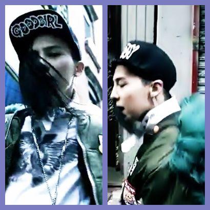 G-Dragon atau Kwon Ji Young yang berasal dari Bigbang mengakui bahwa dirinya bergoyang-goyang aneh di salah satu lagu Bigbang yaitu Bad Boy adalah karna rambutnya suka termakan olehnya saat bernyanyi.. :D