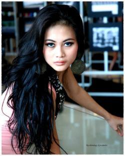 Gallery Foto Model Cantik dan Seksi Aura Dhiba