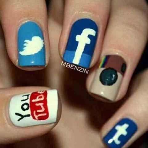 nail art keren yah :)
