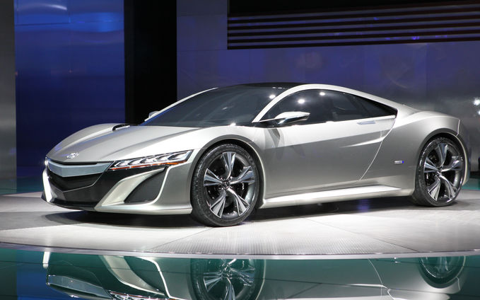 New Acura NSX concept WOWnya DUNK guys !!