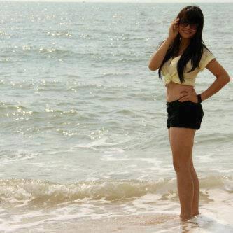 Foto Sexy Sonya JKT48 dipantai o_O