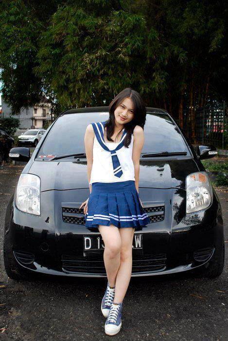 Foto Melody JKT48 yang mirip Miyabi atau Maria Ozawa. WoW