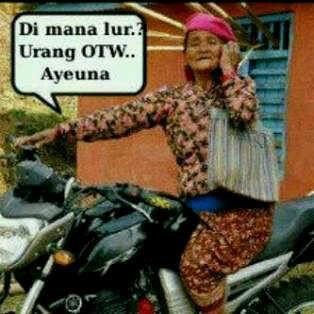 hayoo orang sunda pasti ngerti .. hahahaahahaa follow twitter @dereva_fauzi