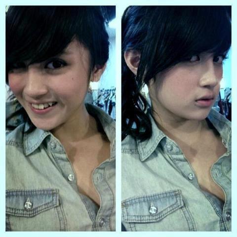 Foto Sexy Nabilah JKT48, Jangan Sampe Salah Fokus ya ^_^ WoW