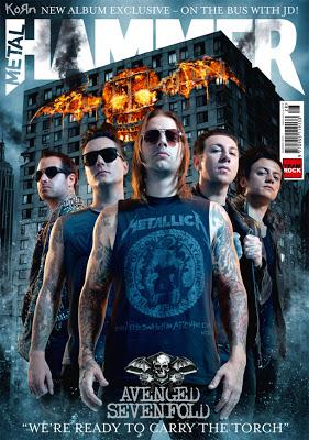 Avenged Sevenfold in Metal Hammer Magazine 2013