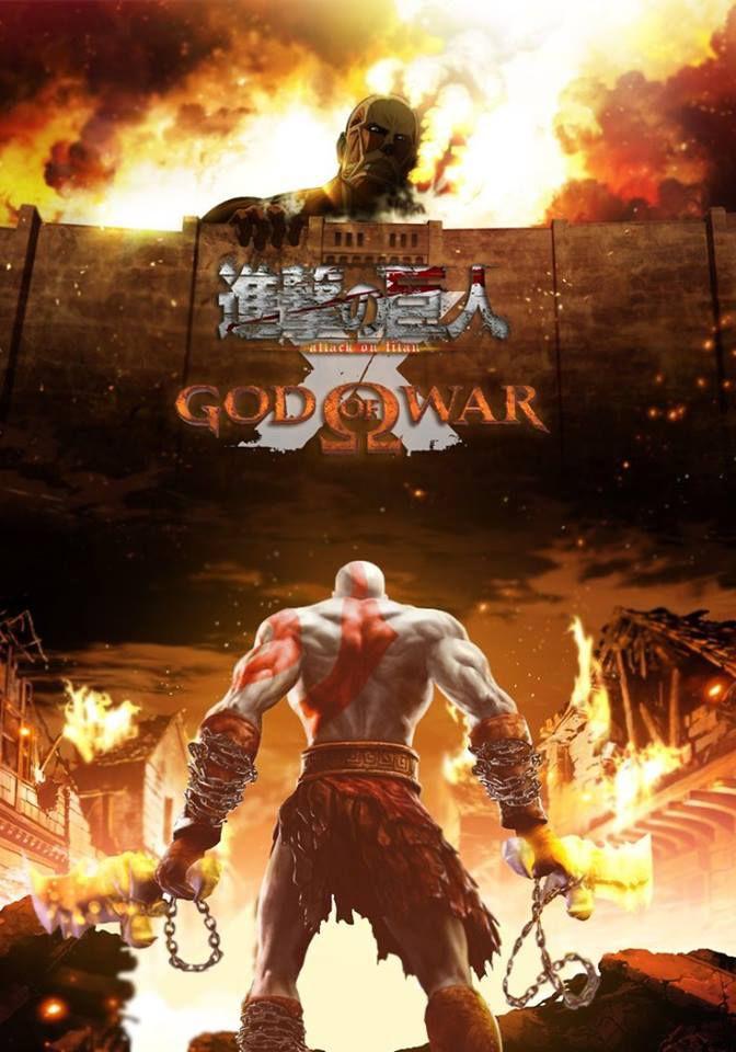 Attack on titan vs God of war
