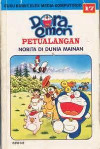 Siapa Yang Punya Komik Doraemon Yang Petualangan Nobita Di Dunia Mainan ? Yang Punya Klik Wownya ya ......!