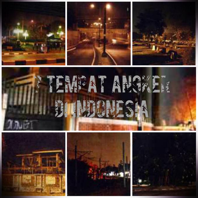 Tempat Paling Angker Di Indonesia Newhairstylesformen2014 Com