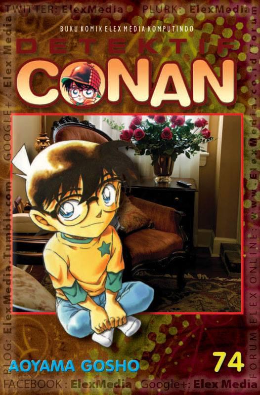 Muncul tokoh baru, Masumi Sera! Jangan lewatkan eksibisi kekuatan antara detektif dari barat vs timur! DETEKTIF CONAN vol. 74 http://ow.ly/nbw9a Harga: Rp. 17.500