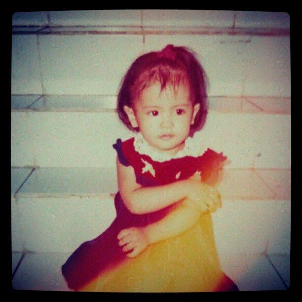 Foto Sonya JKT48 waktu kecil, Lucu banget ya.