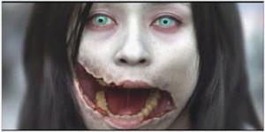 Kuchisake-Onna, hantu wanita bermulut sobek dari Jepang