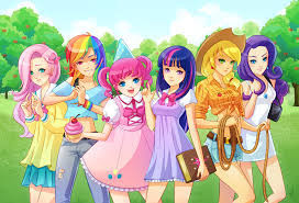 My Little Pony Anime Version