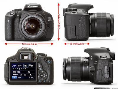 Kamera DSLR untuk fotografer pemula dan profesional | Canon EOS 600D