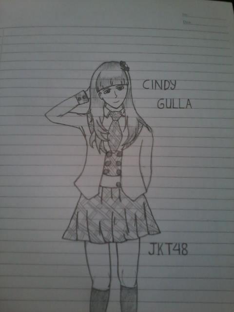 Cindy Gulla JKT4 versi aku !!! WoW nya yaa bgi Cigullovers