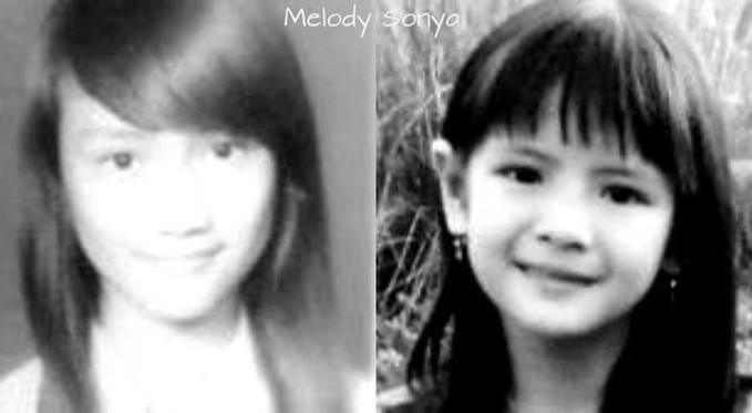 Foto Melody & Sonya JKT48 waktu kecil