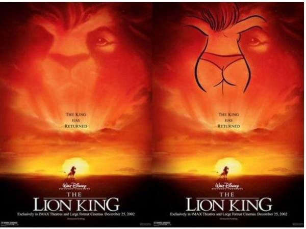 WOW .... Another Disney FAIL ! positive thinking guys :)