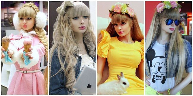 Cantiknya Gadis Barbie Asal Rusia, Anzhelika Kenova