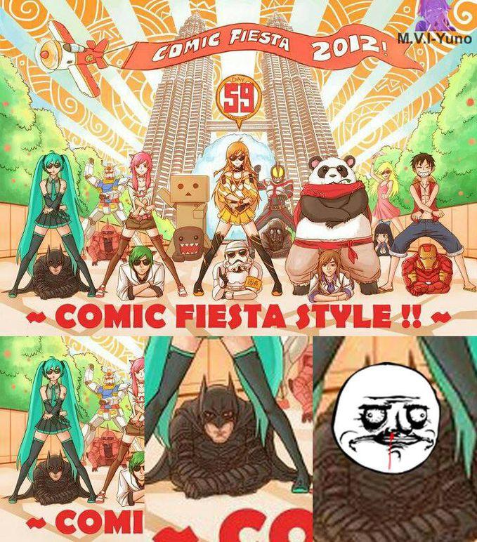 Comics Fiesta Style *FapFapFap*