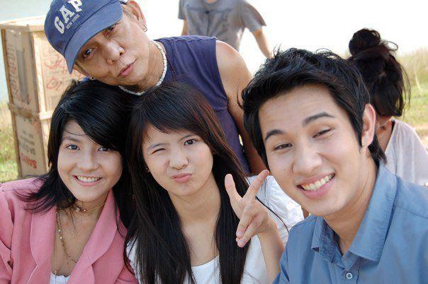 Sonya JKT48 waktu syuting iklan Ponds