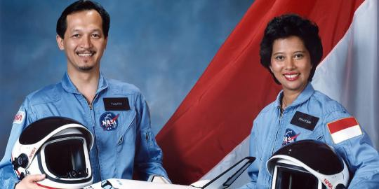 Astronot Indonesia yang Gagal di Terbangkan ke Luar Angkasa