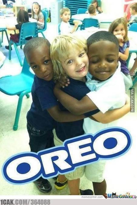 just oreo black/white/black