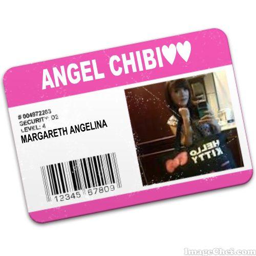 ID CARD ANGEL CHIBI. WOWNYA DONG..
