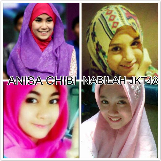 Sobat Pulskers menurut kalian lbh cute mana? Anisa ChiBi atau Nabilah JKT48?? Jgn lupa WOW ya ya.. NO RUSUH NO salling mengejek