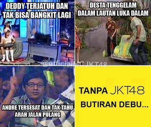 """Meme Comic dari Deddy,Desta,Andre yang berjudul """"Tanpa JKT48 Butiran Debu"""" Jangan Lupa WoW nya gan o_O"""