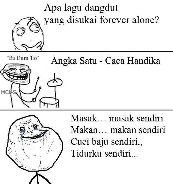 Kasian banget Forever Alone