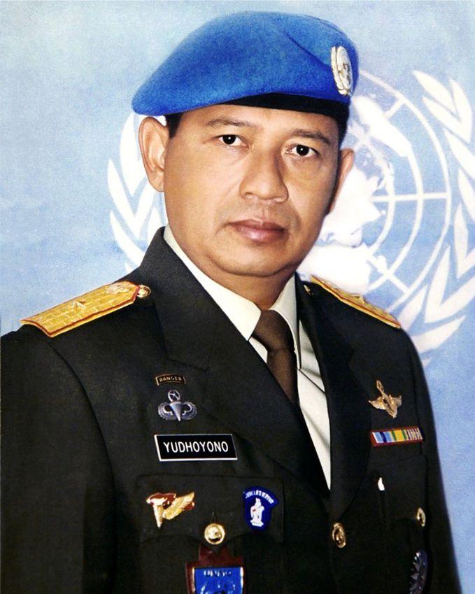 pak SBY saat tahun 1995-1996 sebagai Chief Military Observer Pasukan Pemelihara Perdamaian PBB di Bosnia Herzegovina