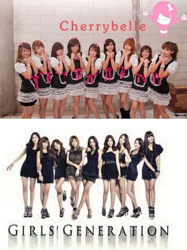 Cherrybelle vs SNSD pilih mana? Kasih wow - nya ya
