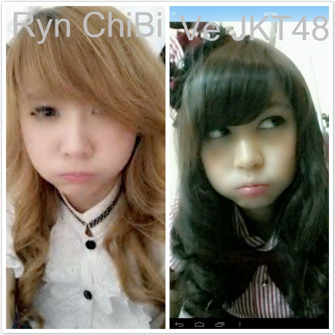 Hayoo!! Kalian pilih mana Ryn ChiBi atau Ve JKT48 nih?? Sama2 cute yah..!! Eiits, jgn lupa klik WOW :P :D NO RUSUH NO SALING MENGEJEK