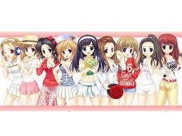 SNSD Versi Anime !! lucu gk #no kacang , aq sone