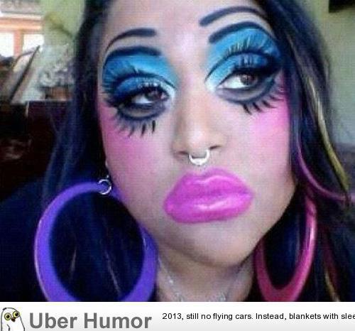Epic Fail Makeup