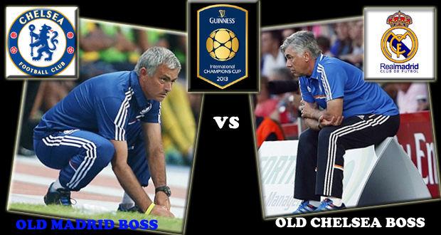 Jose Mourinho Old Madrid Boss vs Ancelotti Old Chelsea Boss bakalan seru nih...