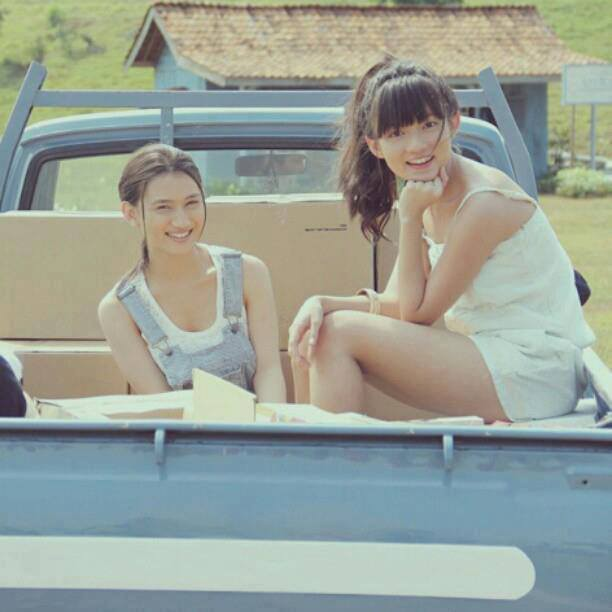 Foto Melody JKT48 & Stella Mau Mudik nih ^_^
