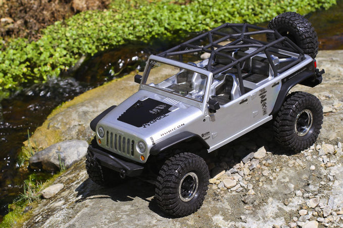 R/C Axial scx10 jeep wrangler unlimited rubicon WOWnya jangan lupa !!