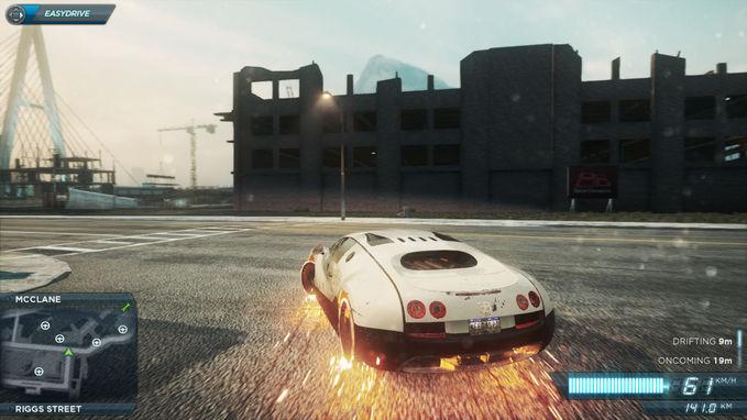 Beginilah jadinya kalau ghost rider make Bugatti Veyron..!! Wow nya ya gan..